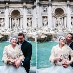 Wedding at Fontana di Trevi