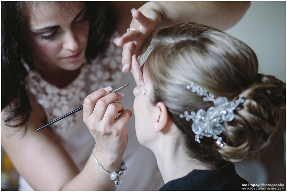 Bride in Kasteel Gravenhof