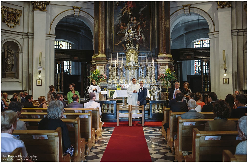 Church wedding in Belgium