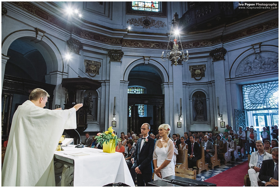 Belgian church wedding
