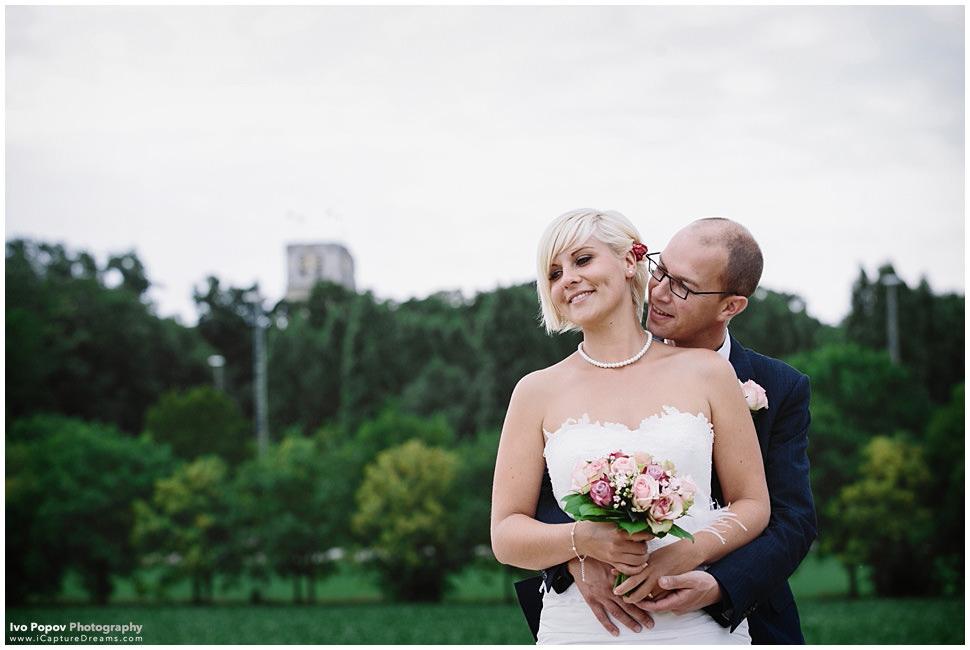 Belgian wedding couple