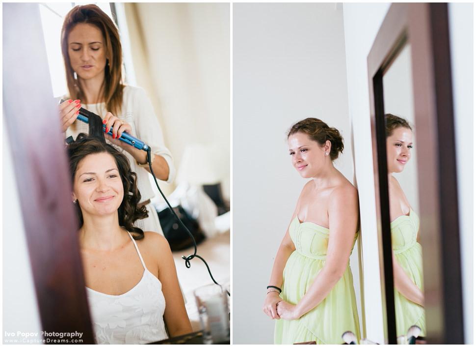 Brides preparation