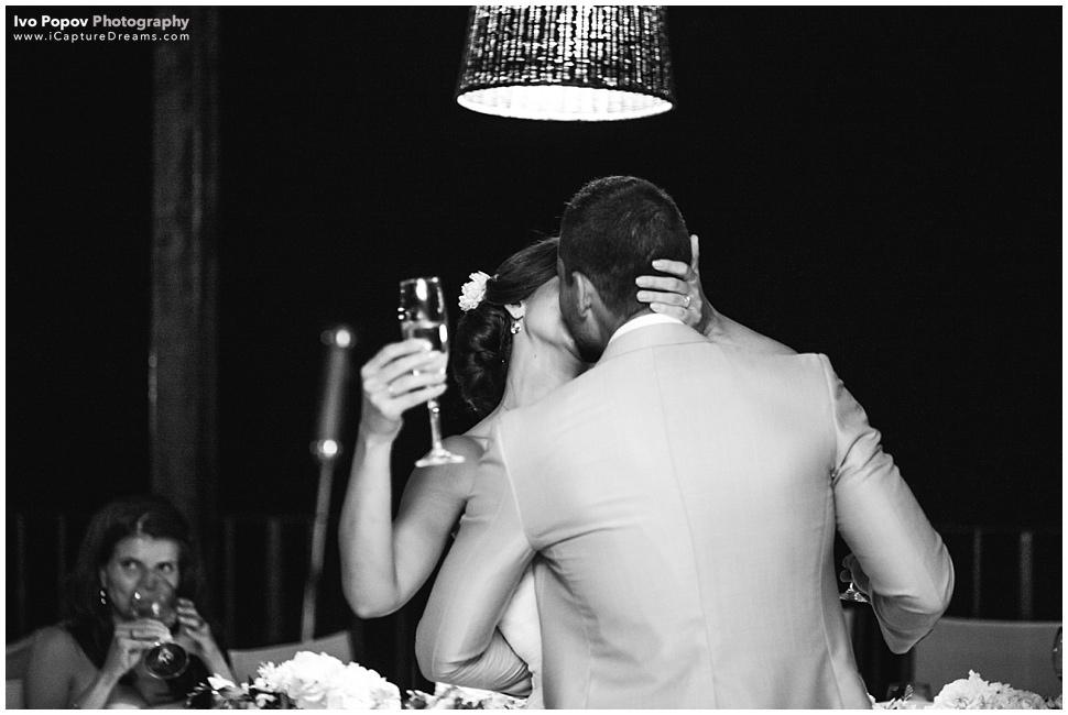Gorgeous kiss