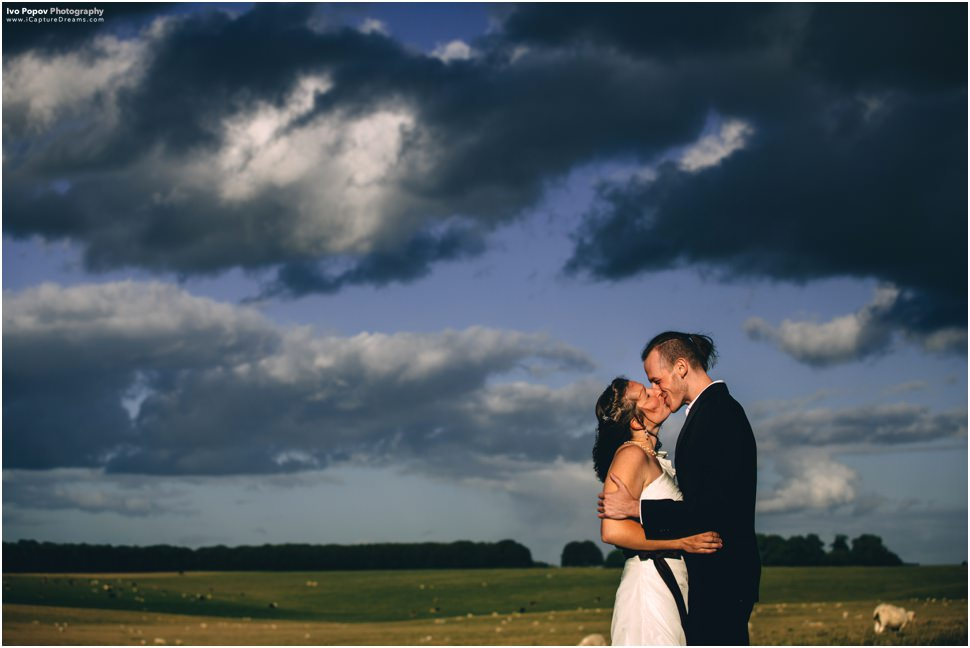 Romantic wedding image