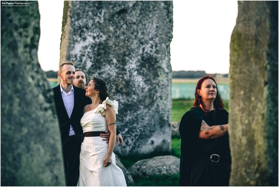 Druid Wedding in Stonehenge