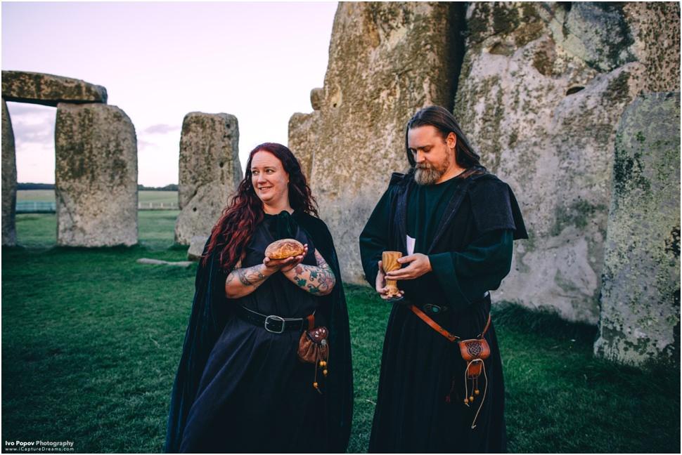 Druid wedding details