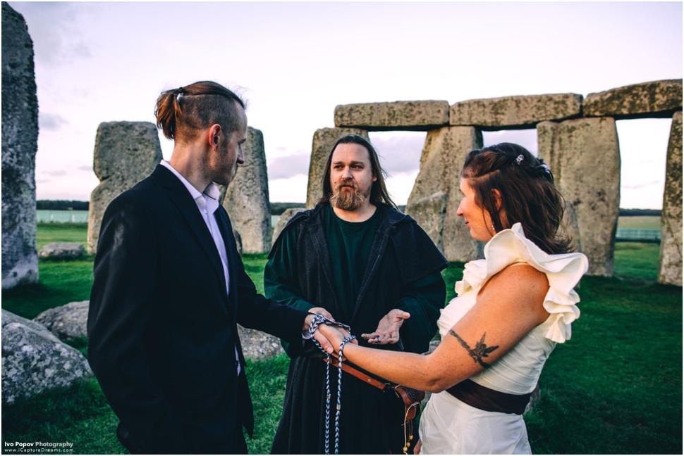 Wedding in Stonehenge