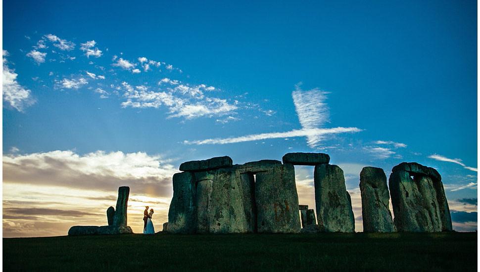 Druid Wedding in Stonehenge by Ivo Popov Photography