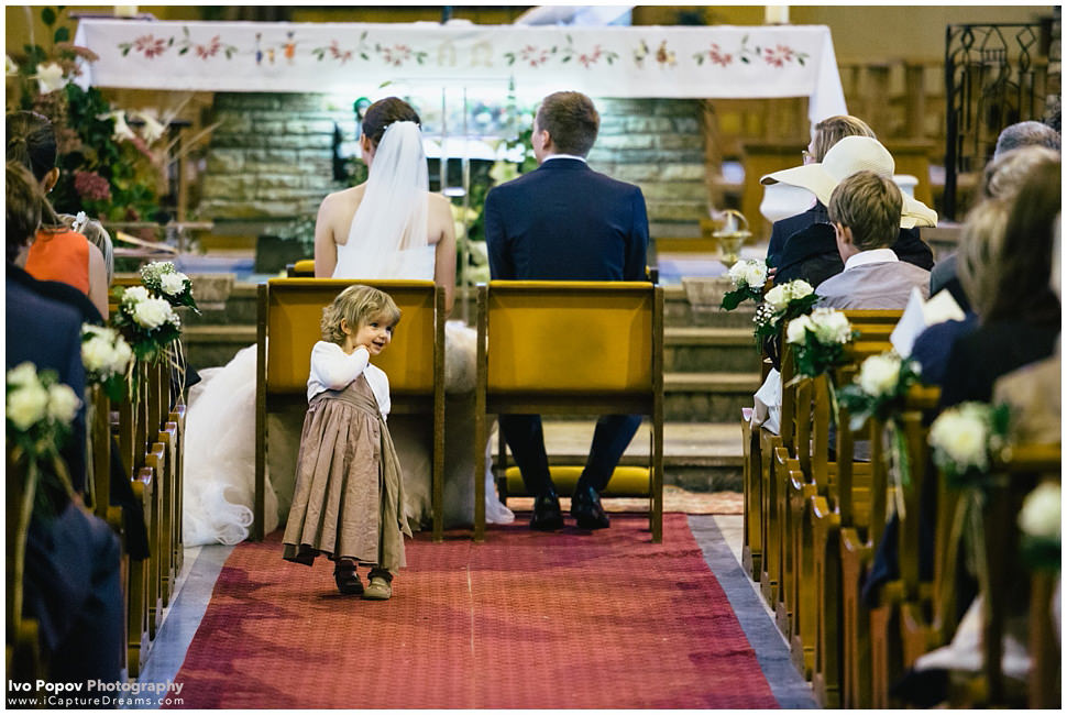 Church wedding in Le Touquet
