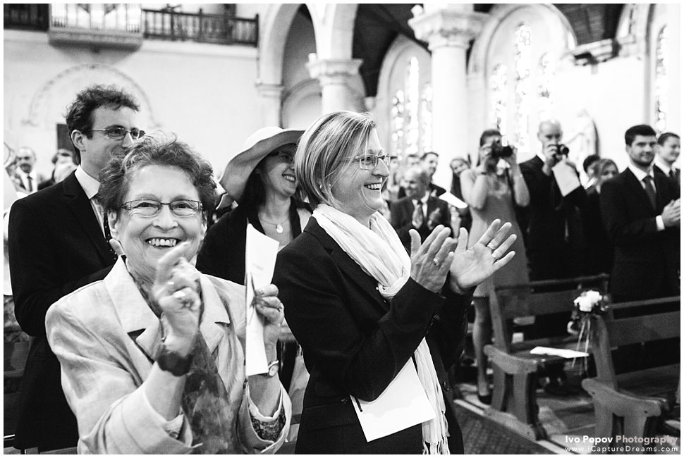Wedding reactions