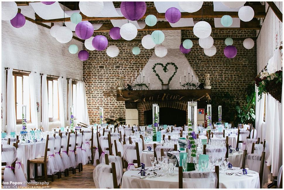 Barn wedding in France