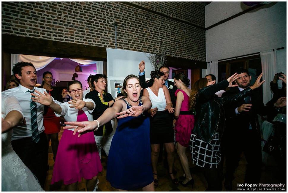 Group wedding dance