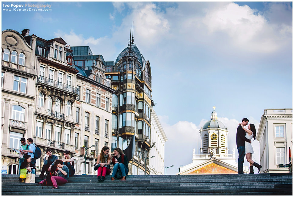 Engagement Pictures in Brussels