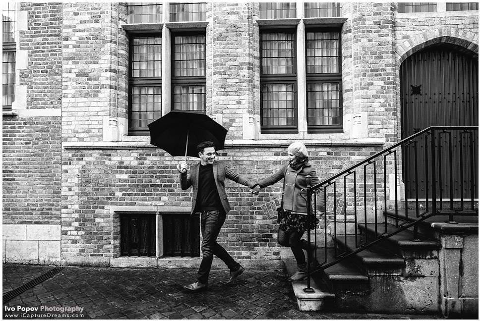 Bruges Engagement Images