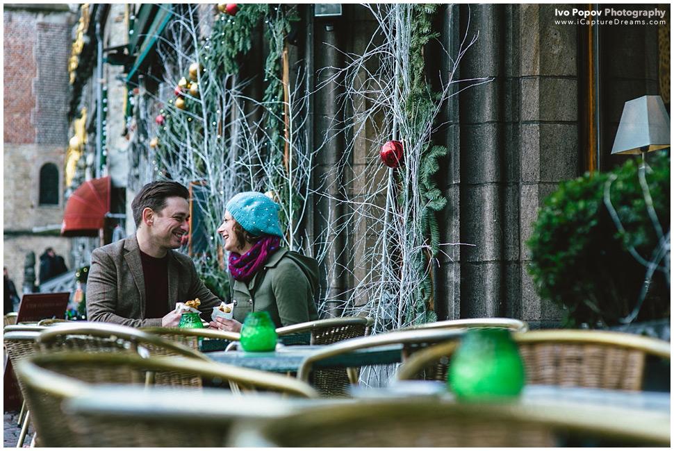 Engagement Session in Bruges