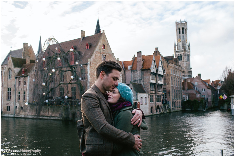 Engagement Photos in Bruges