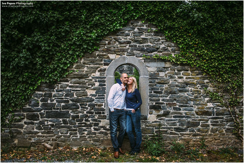 Engagement Session in Abbaye de Villers