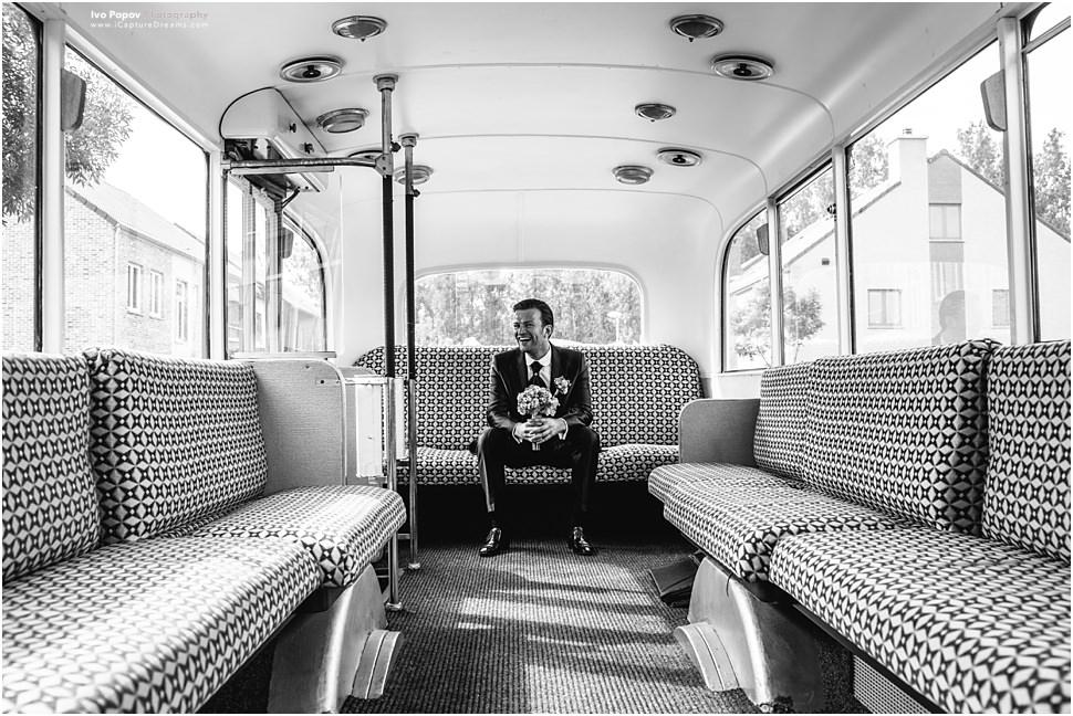 Belgian wedding bus