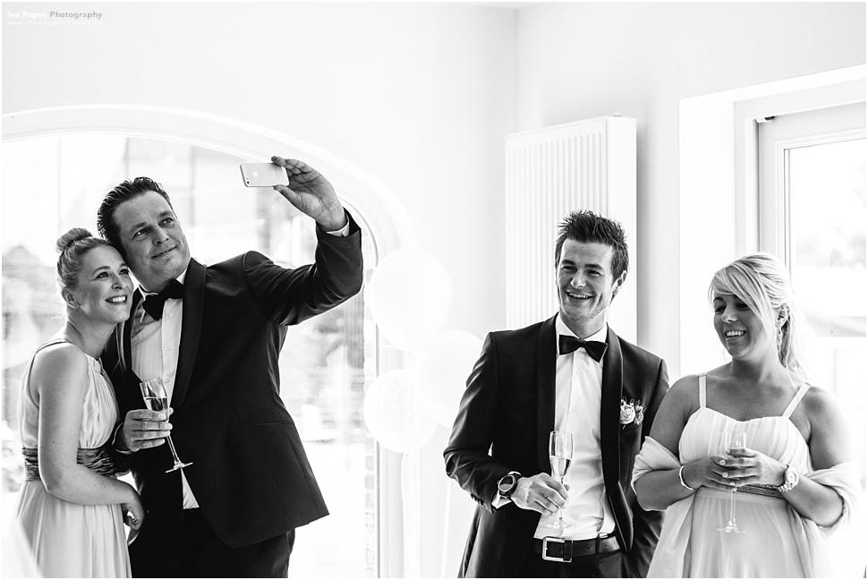 Wedding selfie Belgium