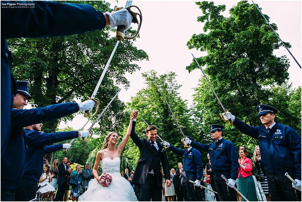 Domein 't Meersdael wedding ceremony