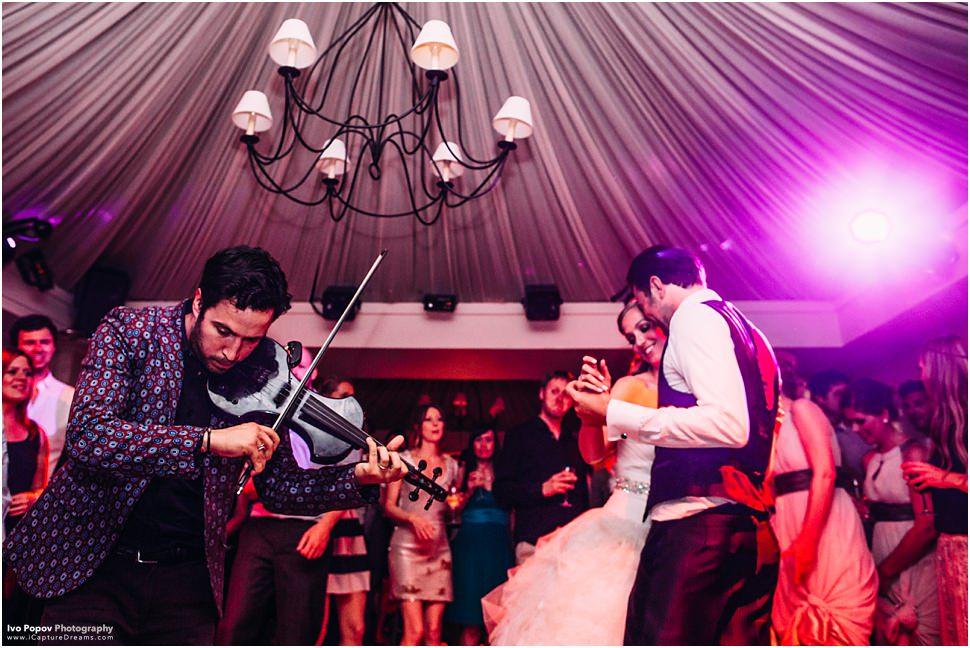violin player wedding belgium