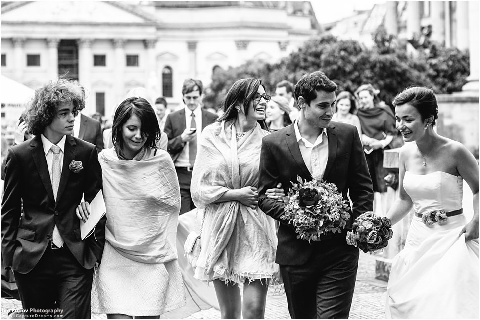 Guests wedding