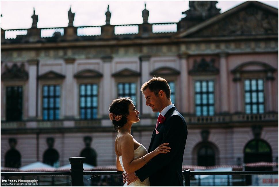 Berlined Dom wedding