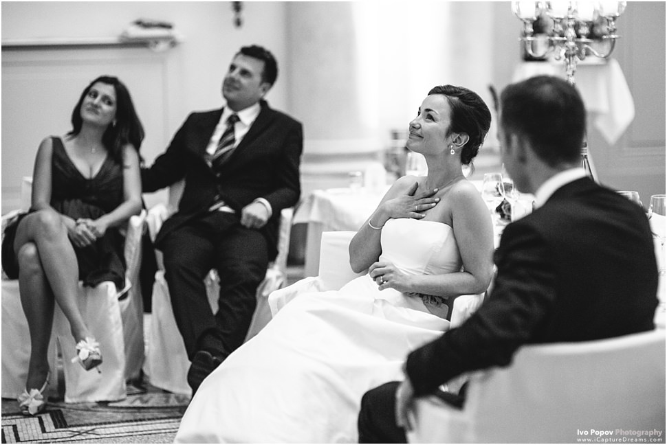 Romantic wedding momennts