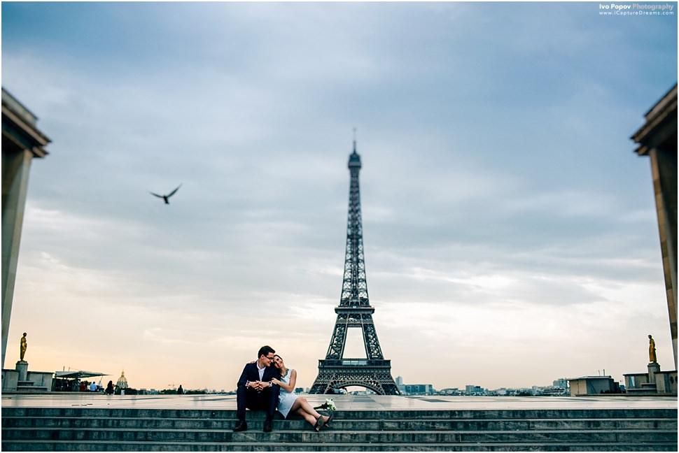 Creative Wedding Photographer in Paris
