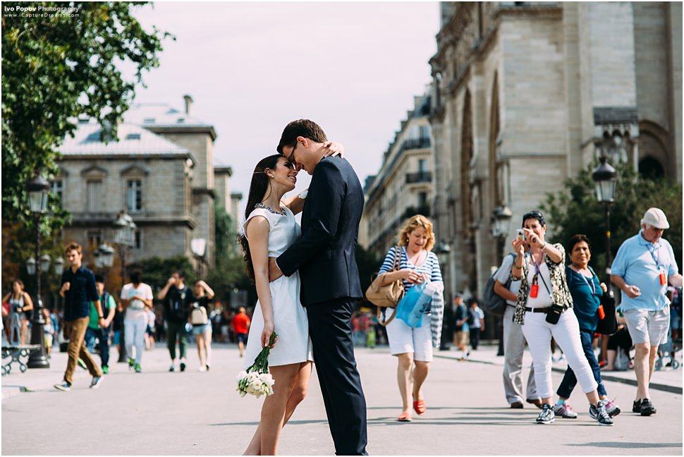 Couple Session in Paris