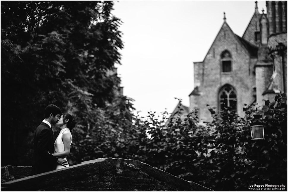 Pre wedding photo session in Bruges