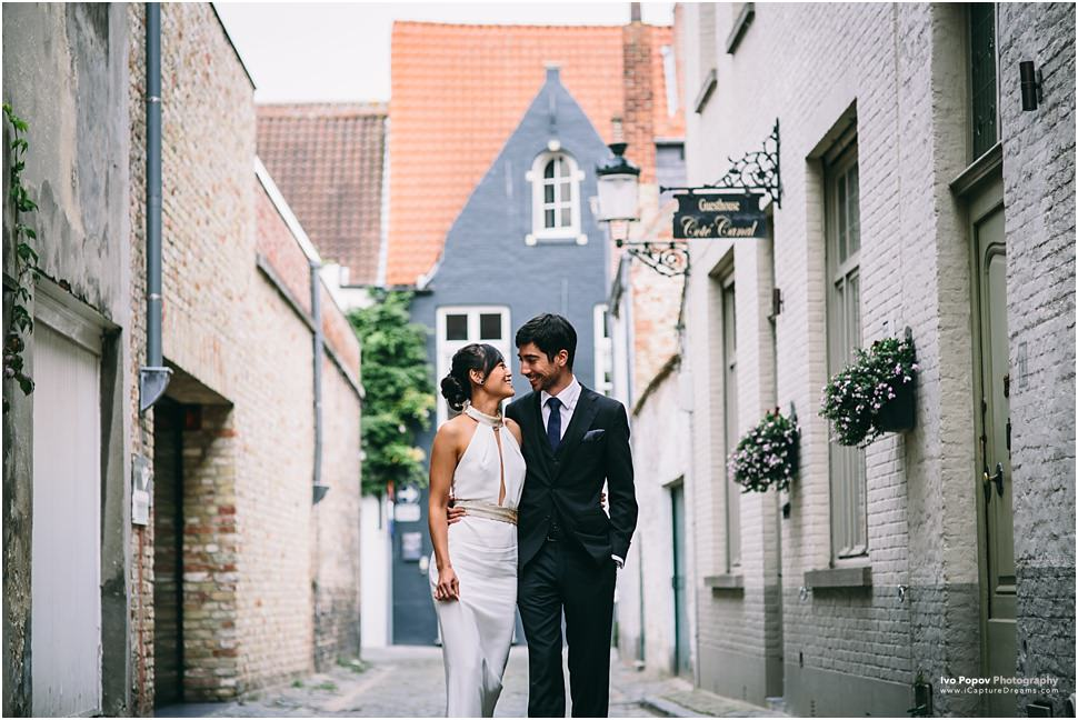 Bruges Engagement Photographer Ivo Popov Photography
