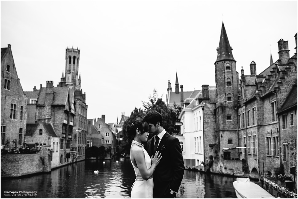 Romantic Engagement in Bruges