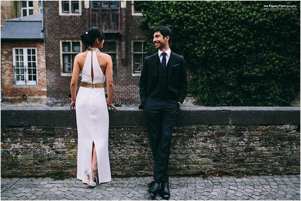 Pre wedding photos in Bruges