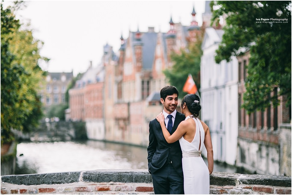 Romantic images in Bruges