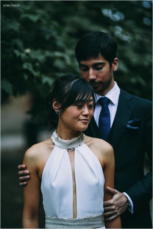 Romantic wedding in Brugges