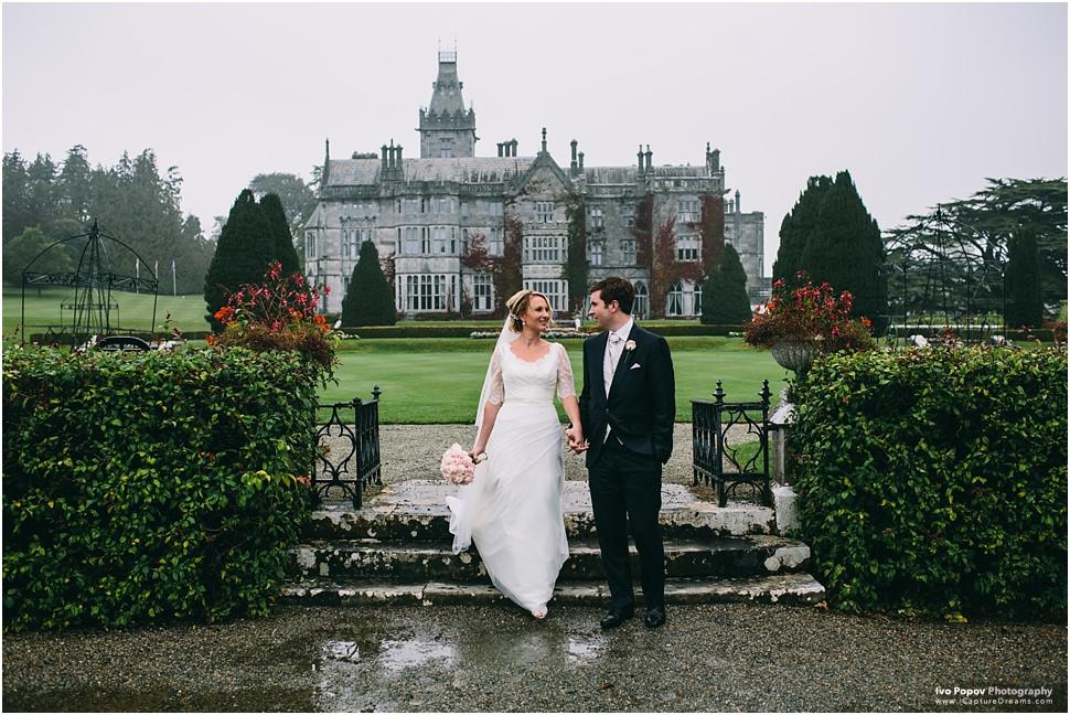 Amazing Destination Wedding in Adare Manor