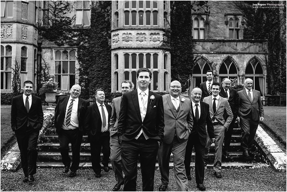 Group portraits in Adare manor