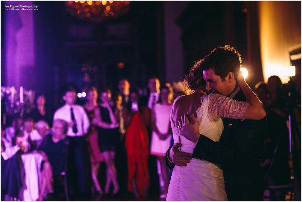 First dance in Adare Manor in Ireland