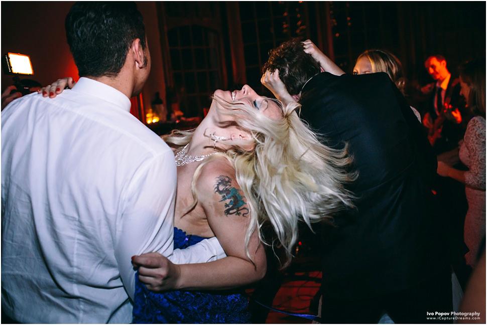 Wild dancing in Adare Manor