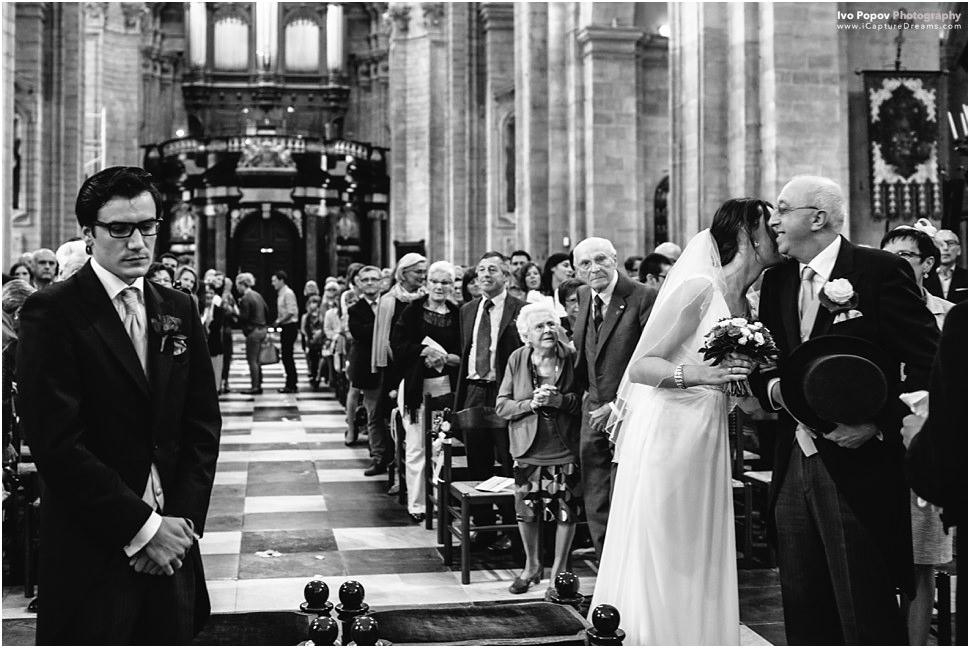 Huwelijk in Onze-Lieve-Vrouw Sint-Pieterskerk