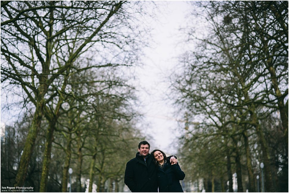 Engagement Session in Brussels | Barbara and Jonathan
