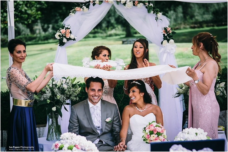 Outdoor ceremony and Wedding in The Classic Domain