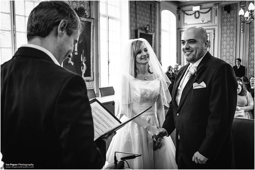 Wedding ceremony in Aalst