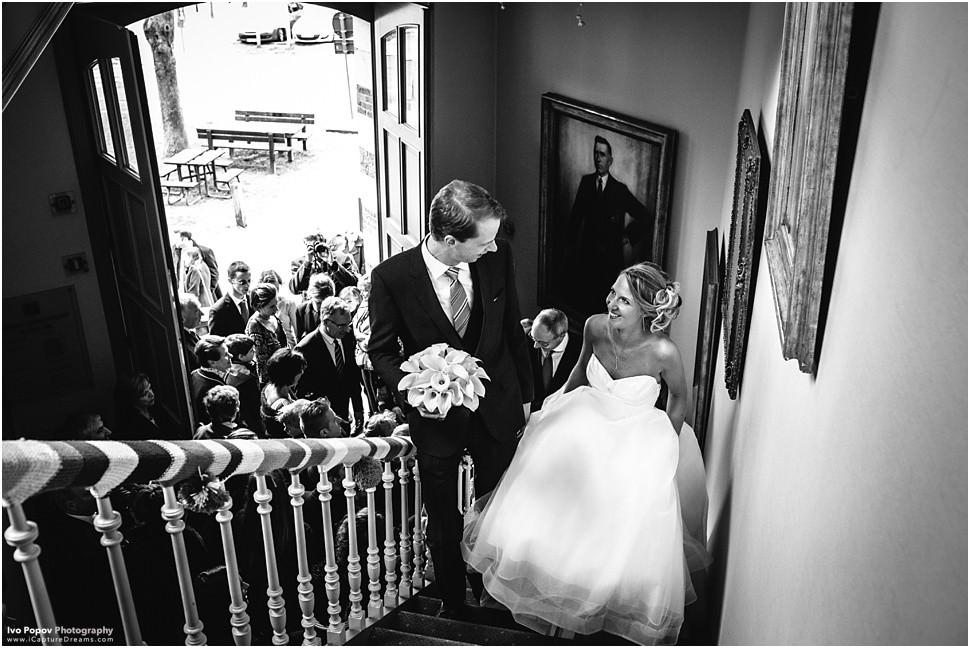 Huwelijksfotograaf Grimbergen - Stadhuis Grimbergen huwelijk