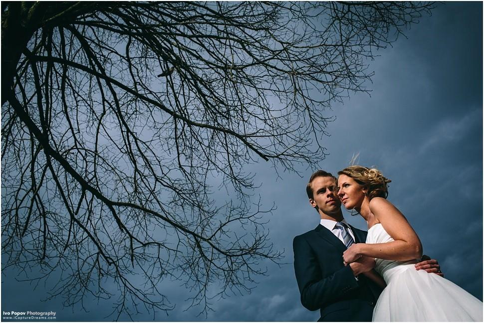 Wedding photo session in Grimbergen