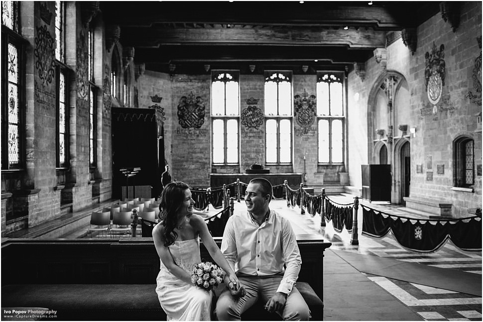 Intimate wedding in Gent town hall