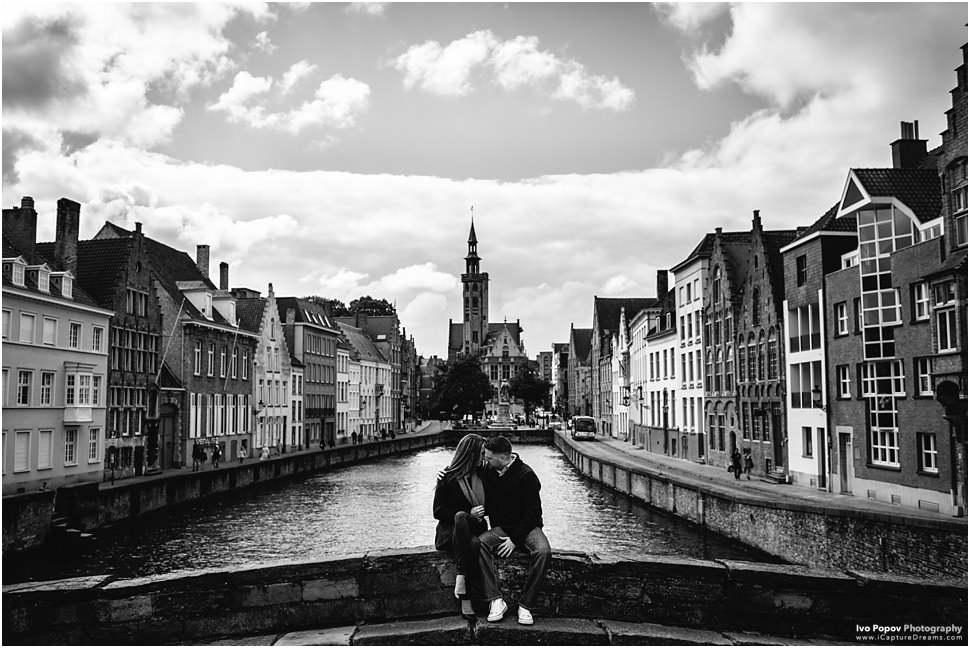 Engagement session in Bruges // Sunny and Ryan