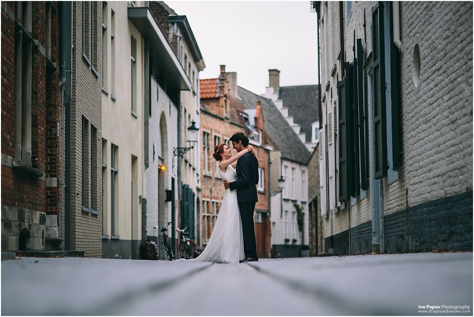 Lovely couple session in Bruges
