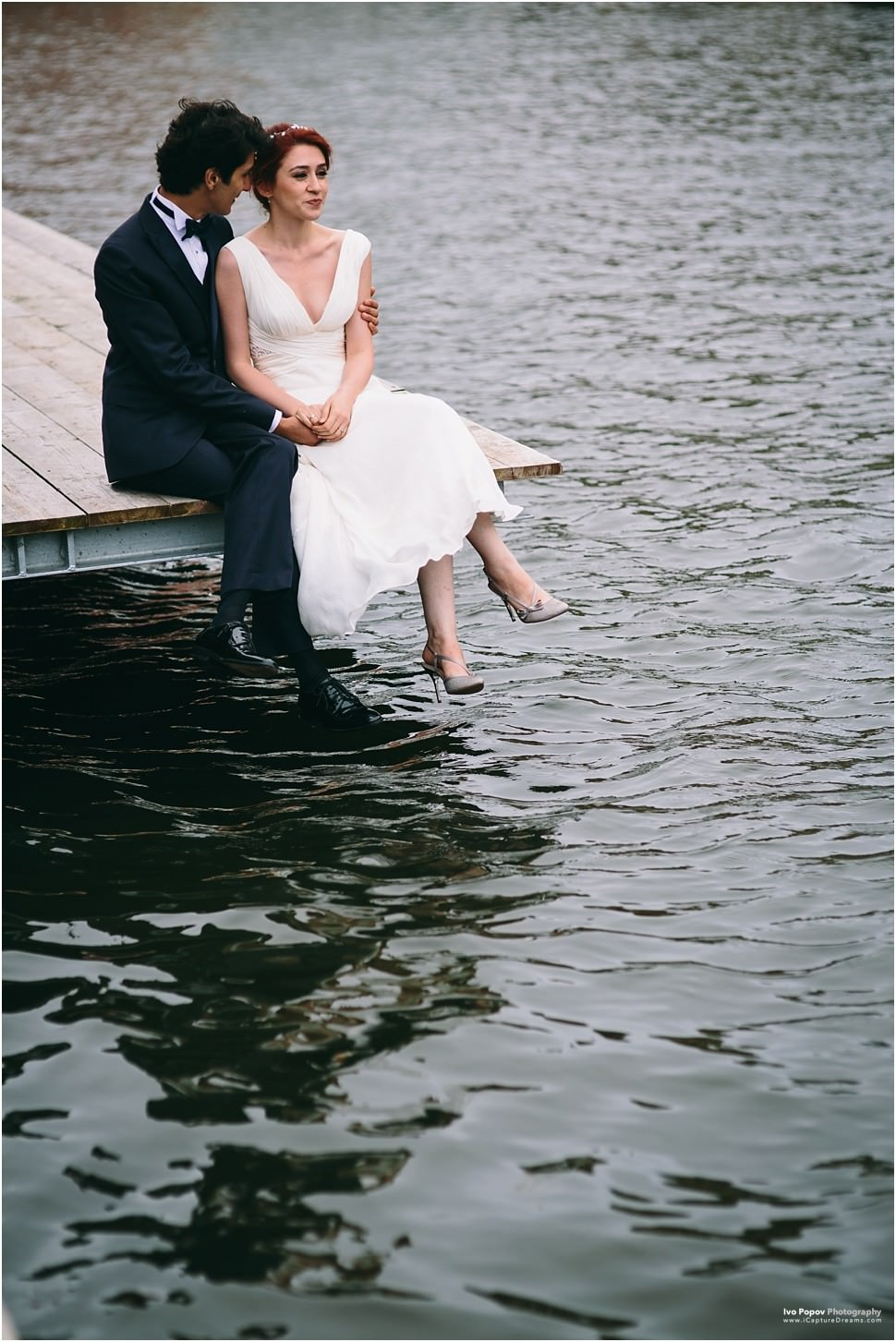 Creative wedding images in Bruges